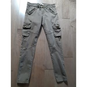Nevada khaki utility style cargo pants